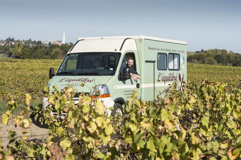 food-truck Nantes repas équilibrés