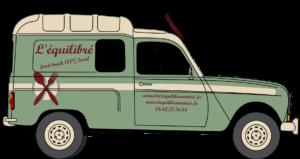 camion food-truck l'Equilibré à Nantes
