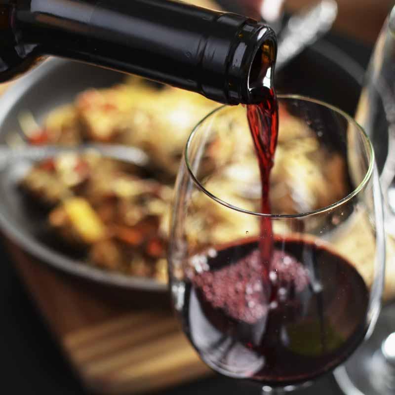 l'équilibré vin rouge foodtruck Nantes