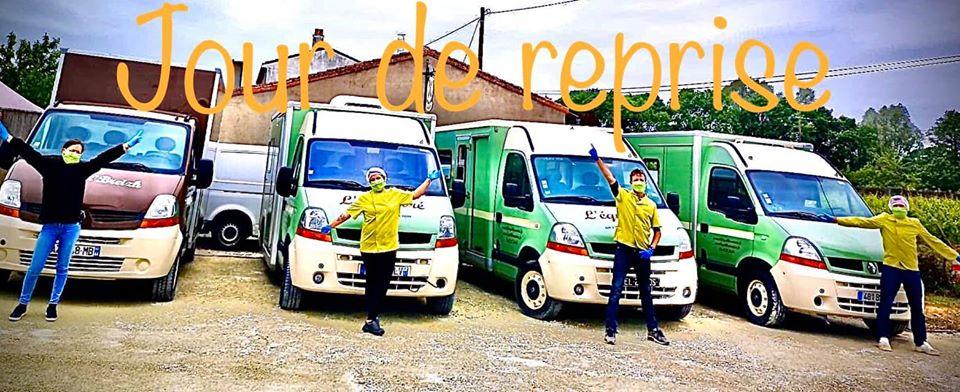 reprise activité l'Equilibre food-trucks Nantes